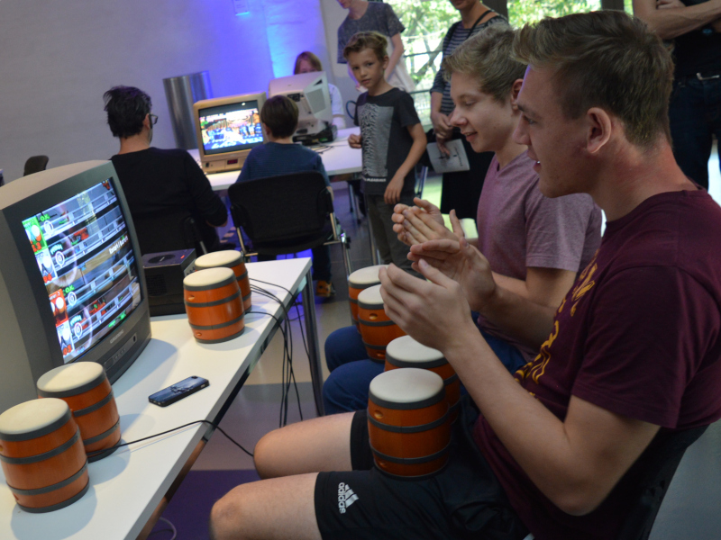 Der Game Room 2018 im Technikmuseum